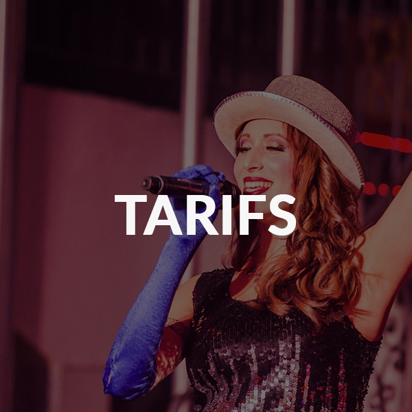 TARIFS etoile cabaret